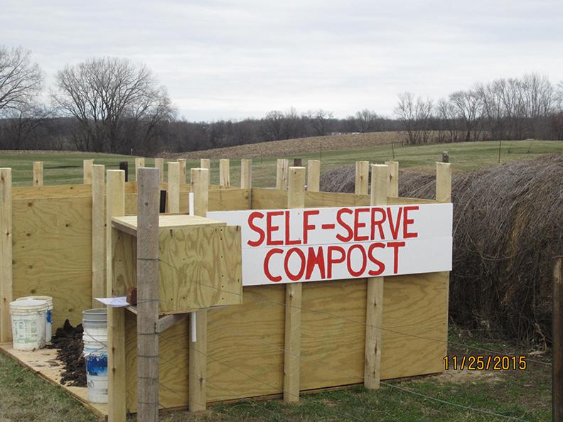 Llama Compost